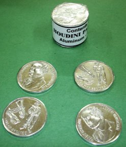 Manipulations Münzen