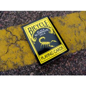 Black Scorpion Bicycle Deck (3506)