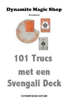 101 Trucs met een Svengali Deck Boekje (B0112)