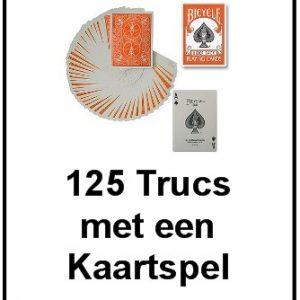 125 Trucs met een Kaartspel Boekje (B0116)