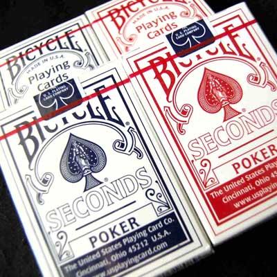 Bicycle Poker Seconds DOZIJN (0744)