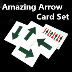 Amazing Arrow Card Trick & Video (0900)
