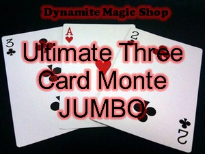 Ultimate Three Card Monte JUMBO (T01)