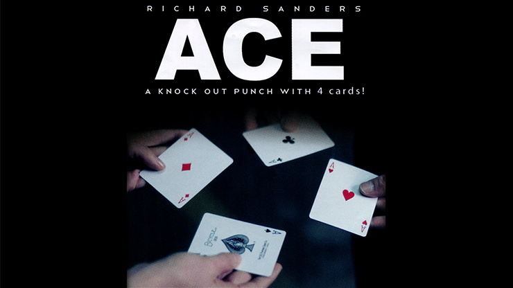 ACE (Cards & Online Video) by Richard Sanders (DVD753)