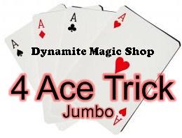 4 Ace Trick Jumbo Bicycle (T02)