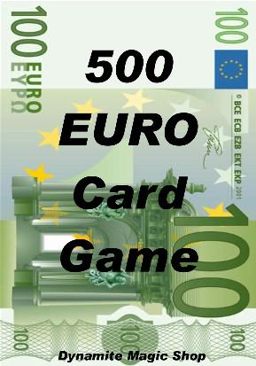 500 Euro Card Game (1583)