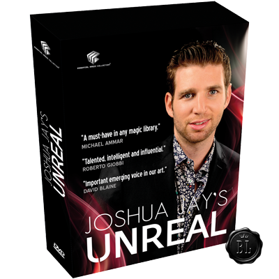 Unreal by Joshua Jay and Luis De Matos DVD (DVD833)