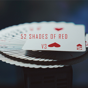 52 Shades of Red Version 3 (Gimmicks & Video) by Shin Lim (4495)