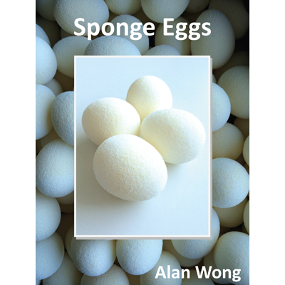 Sponge Eggs (4pk.) by Alan Wong (3855)