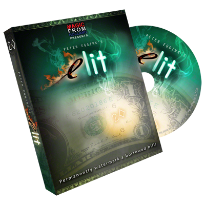 eLit DVD and Gimmick by Peter Eggink (DVD838)