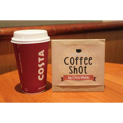 Coffee Shot Gimmicks & DVD by Chris Webb (3828)