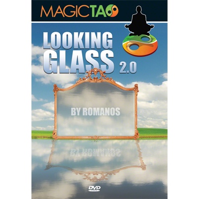 Looking Glass 2.0 (2 Gimmicks) by Romanos and Magic Tao (DVD827)