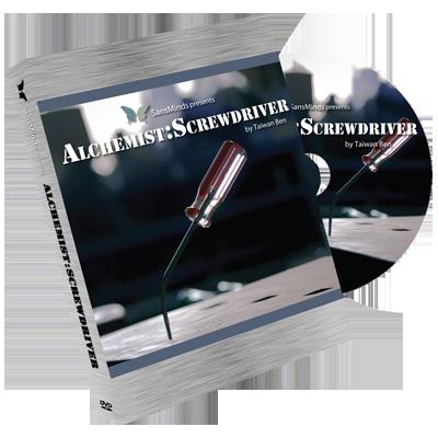 Alchemist: Screw Driver 2 Gimmicks and DVD (DVD828)