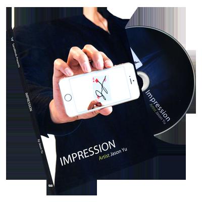 Impression DVD and Gimmick by Jason Yu and SansMinds (DVD835)