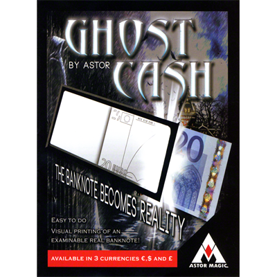 Ghost Cash Euro by Astor (3840)