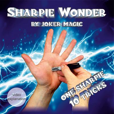 Sharpie Wonder by Joker Magic (2372)