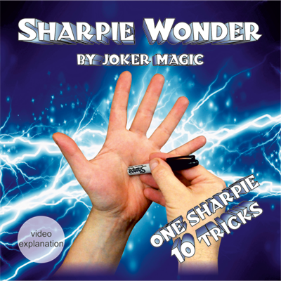 Sharpie Wonder by Joker Magic (2372)