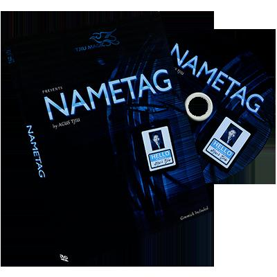 Name Tag by Agus Tjiu (DVD863)