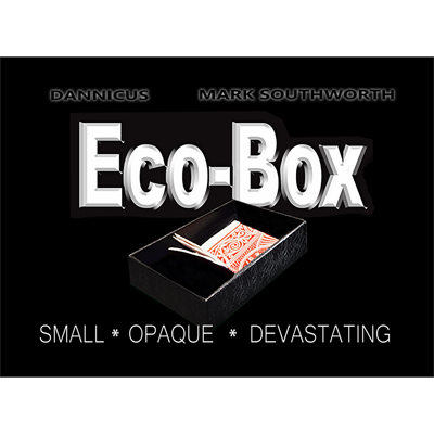 ECO BOX Black by Hand Crafted Miracles (4031)