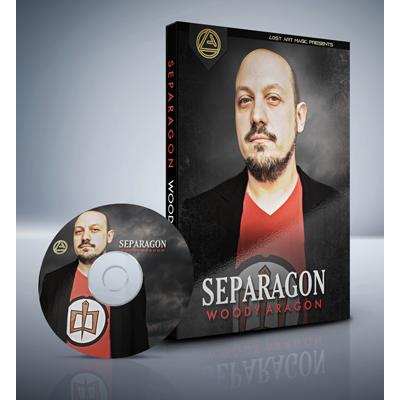 Separagon by Woody Aragon & Lost Art Magic DVD (DVD860)