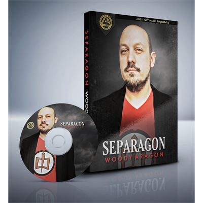 Separagon by Woody Aragon & Lost Art Magic DVD (DVD860)