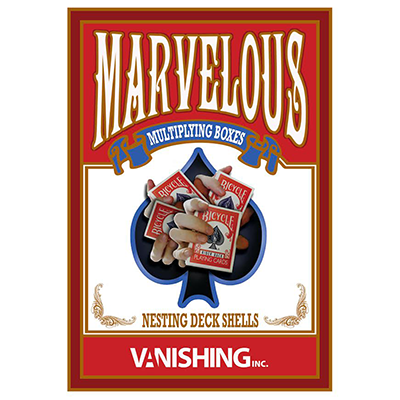 Marvelous Multiplying Card Boxes by Matthew Wright (4051)