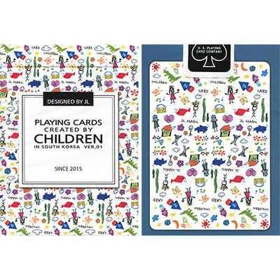 Playing Cards Created by Children by US Playing Card (4009)
