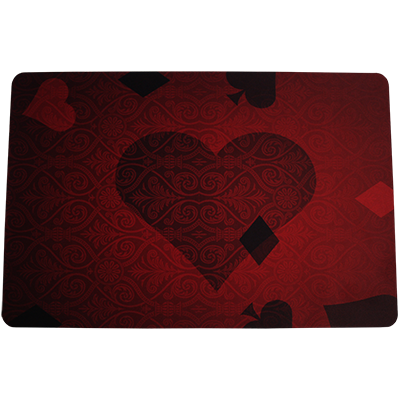 Royalty Close-Up Mat Red by Paul Romhany (4010-w9)