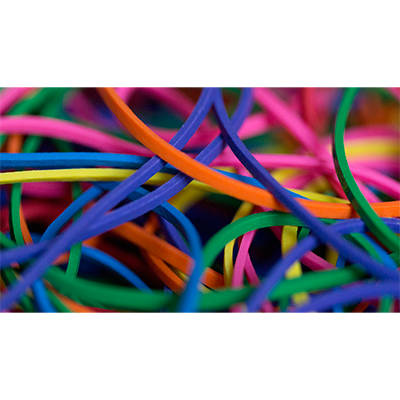 Joe Rindfleisch's Rainbow Rubber Bands - Rainbow Colors (4028)