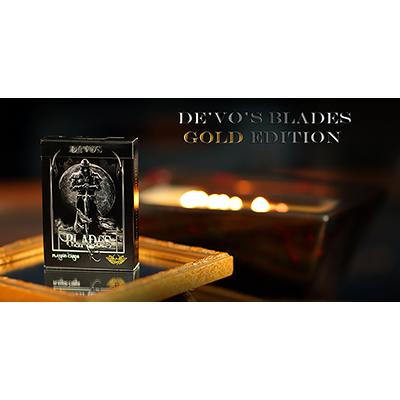 """BLADES """"Gold Edition"""" Deck by Handlordz (2969)"""