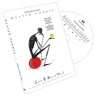 Master Course Cups and Balls Vol. 1 by Daryl DVD (DVD872)