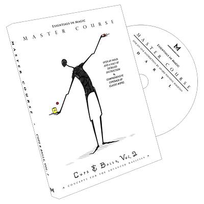 Master Course Cups and Balls Vol. 2 by Daryl DVD (DVD873)