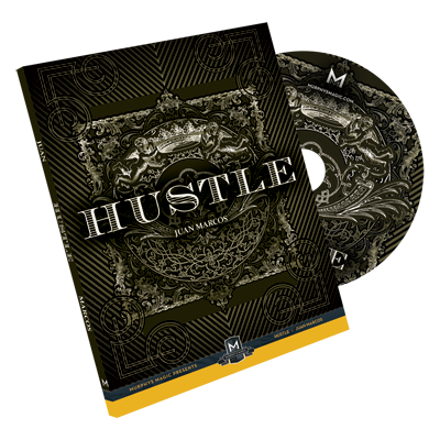 Hustle DVD and Gimmick by Juan Marcos (DVD887)