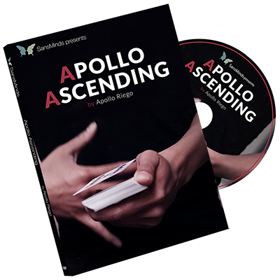 Apollo Ascending DVD and Gimmick by Apollo Riego (DVD885)