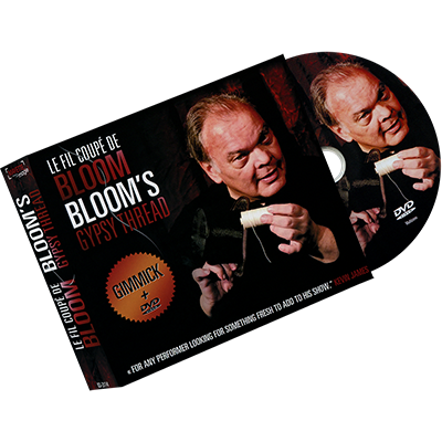 Bloom's Gypsy Thread (DVD and Gimmick) by Gaetan Bloom (0745)