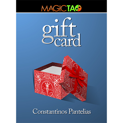 Gift Card Gimmick and Video by Constantinos Pantelias (4169)
