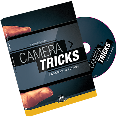Camera Tricks DVD and Gimmicks by Casshan Wallace (DVD908)