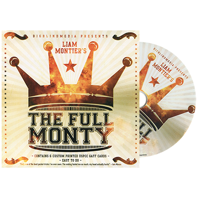 The Full Monty DVD and Gimmick by Liam Montier (4185-w7)