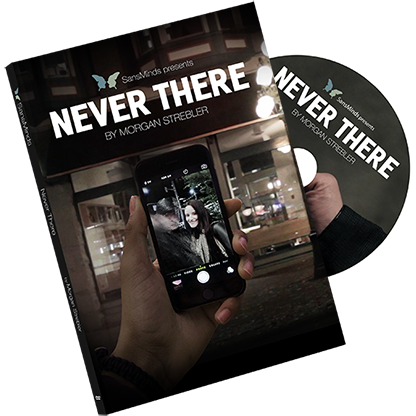 Never There by Morgan Strebler DVD (DVD909)