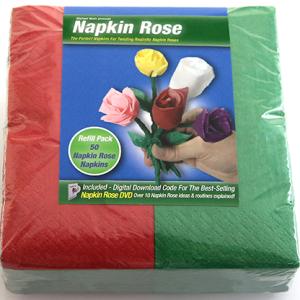 Napkin Rose Kit Red (4302)