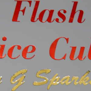 Flash Dice Cube by G Sparks (4257)
