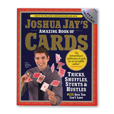 Amazing Book of Cards by Joshua Jay (B0201)