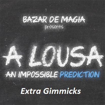 A Lousa Extra Gimmicks by Alejandro Muniz (4851)