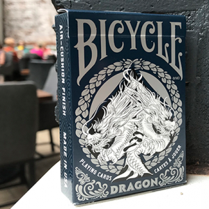 Bicycle Dragon Playing Cards Blue by USPCC (3762)