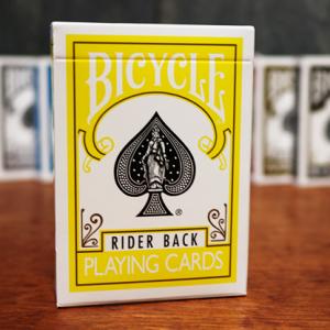 Bicycle Poker Spel Geel (3766)