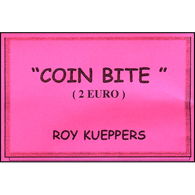 Bite From Coin 2 Euro by Roy Kueppers (3128)