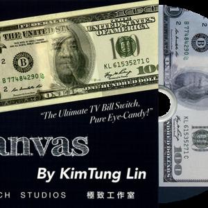 Canvas Euro by KimTung Lin (2286)