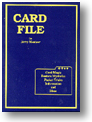 Card File Boek (B0126)