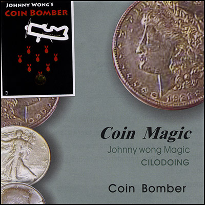 Coin Bomber with DVD by Johnny Wong