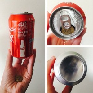 Coin in Cola Can Magic Trick (4958)